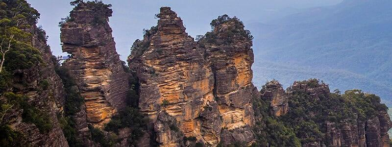 three sisters rocks nsw